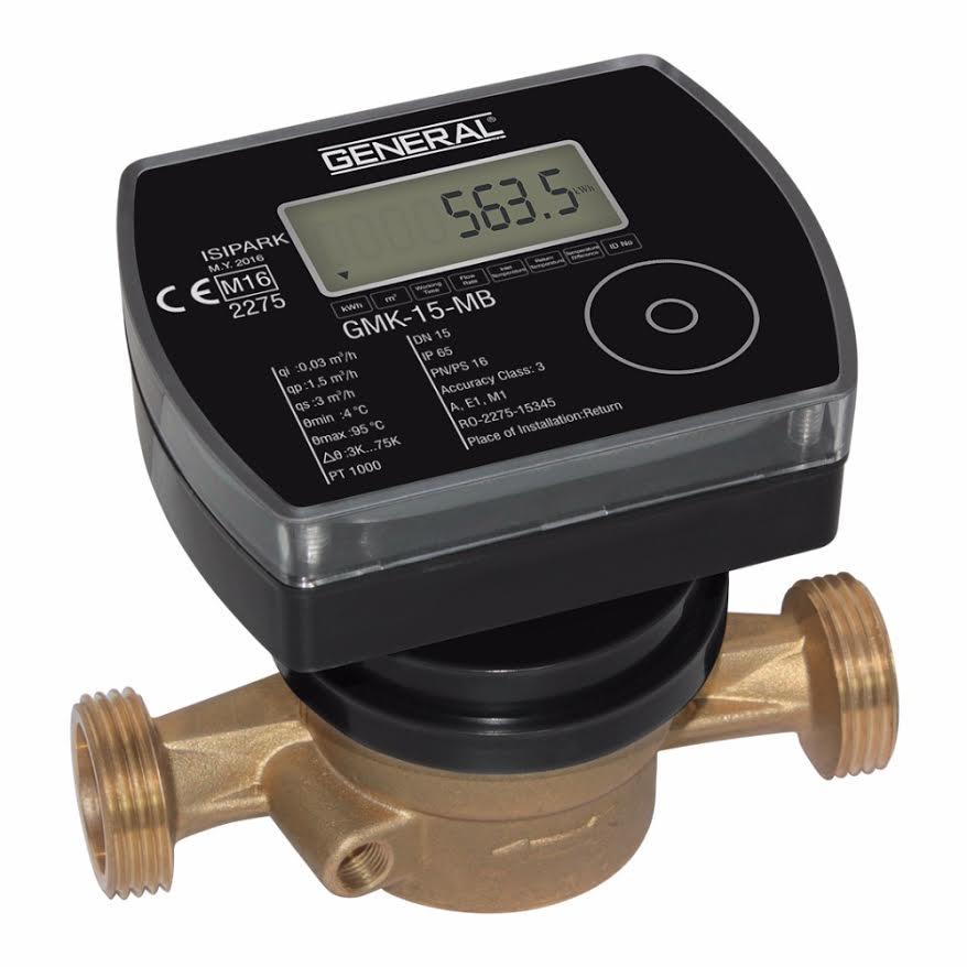 Θερμιδομετρητές- General GMK 05 Θερμιδομετρητής Compact για παροχές από 0 3614609af89